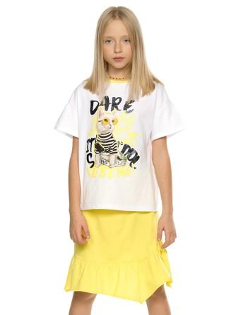 Комплект (футболка и юбка) Потрендим Pelican