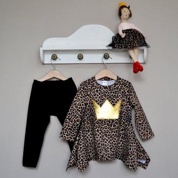 Комплект (туника и леггинсы) Принцесса Лео Baby Boom