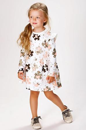 Платье с крыльями 5+