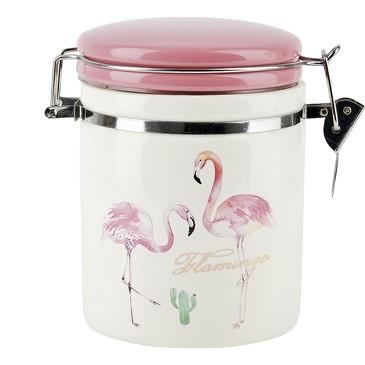 Банка для сыпучих продуктов (клипс) Фламинго, 700 мл Dolomite