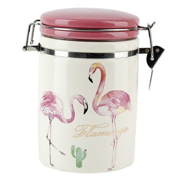 Банка для сыпучих продуктов (клипс) Фламинго, 820 мл Dolomite