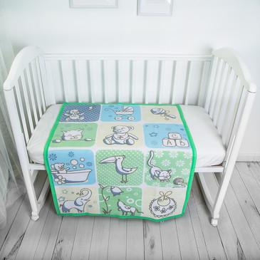 Одеяло байковое Веселые картинки Baby Nice