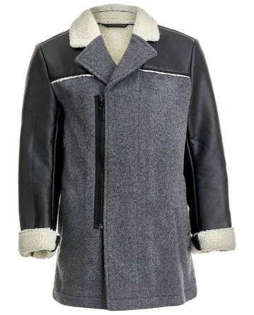 Пальто шерстяное Скарабей Gulliver