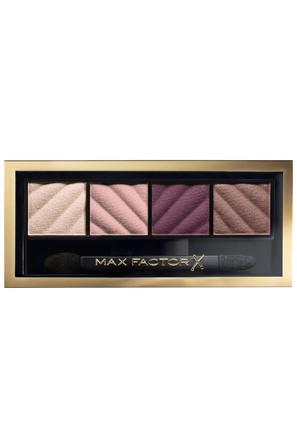Тени для век и бровей Smokye Eye Matte Drama Kit 4 цвета матовые Max Factor