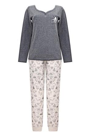Комплект (джемпер и брюки) для девочки Горы Trikozza