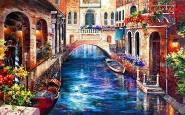 Алмазная картина. Венеция Color Kit