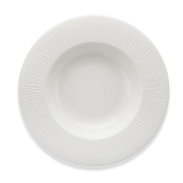 Тарелка глубокая BELLAGIO 25см набор из 4шт. (фарфор) Fissman