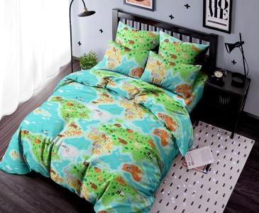 Комплект постельного белья Карта Ночь Нежна
