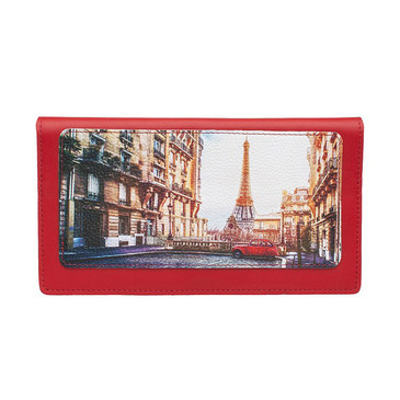 Тревел-конверт Big Улочка Парижа Eshemoda