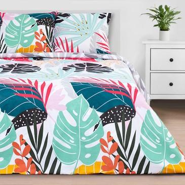 Комплект постельного белья Сolored tropics, бязь Этель