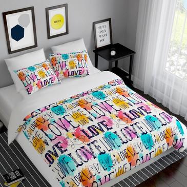 Комплект постельного белья Любовь Сирень