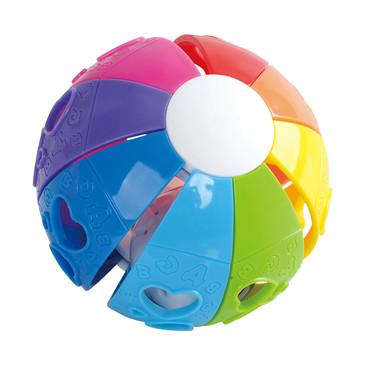 Развив. игрушка Мяч Радуга PlayGo