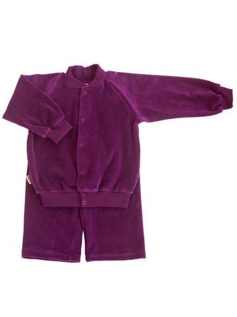 Костюм велюровый (куртка и штаны) Микита