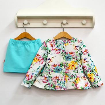 Комплект (жакет и юбка) Колибри Baby Boom