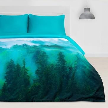 Комплект постельного белья Туманный лес Этель