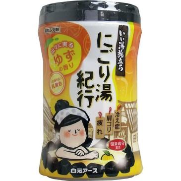 Соль для ванны с восстанавливающим эффектом Hakugen Earth