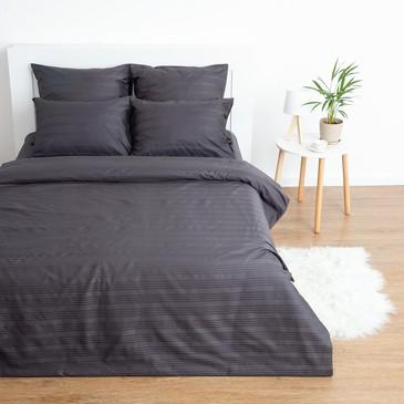 Комплект постельного белья Dark metallic, страйп-сатин Этель
