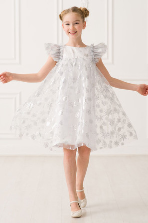 Платье Снежинка Красавушка