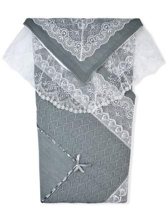 Комплект (плед, пеленка и уголок) Ришелье LEO