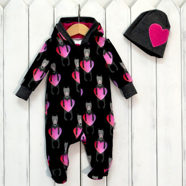 Комплект (комбинезон и шапочка) Baby Boom