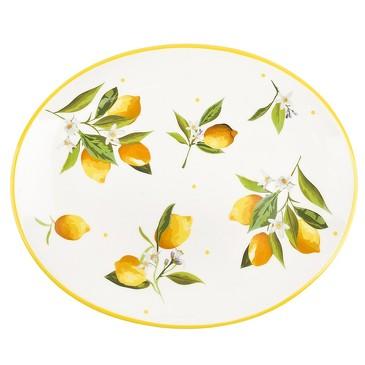 Блюдо сервировочное Лимоны Dolomite
