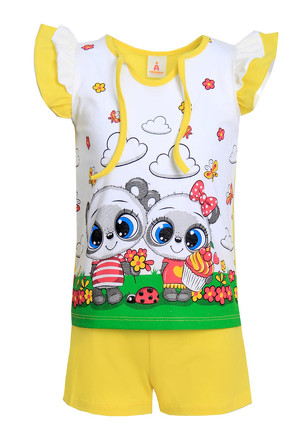 Костюм (футболка и шорты) Джемма-2 Ивашка