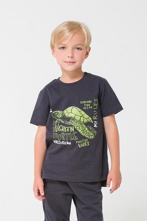 Фуфайка №276 Зелёная черепаха Crockid