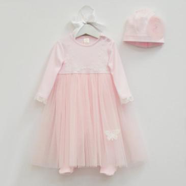 Комплект (платье-комбинезон и шапка) Королева Елизавета Baby Boom