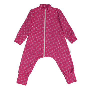 Комбинезон-пижама на молнии легкий Цветочный луг Bambinizon