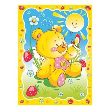 Одеяло байковое Солнечный мишка Baby Nice