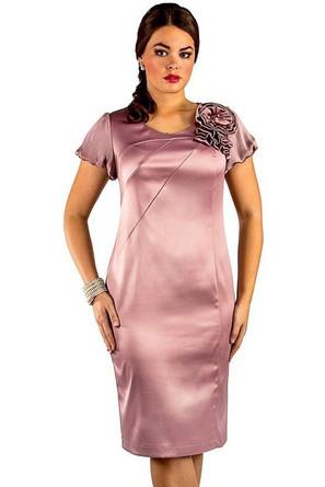 Платье кор. рукав Novita