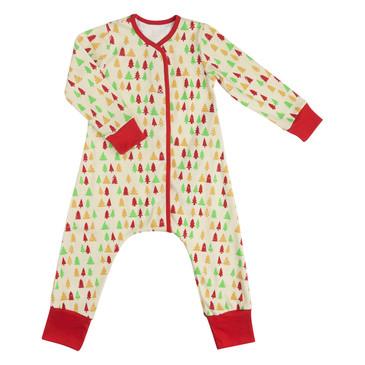 Пижама на кнопках Елочки Bambinizon