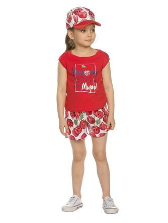 Комплект для девочек (футболка и шорты) Pelican