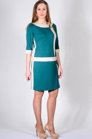 Платье Верона Лагуна