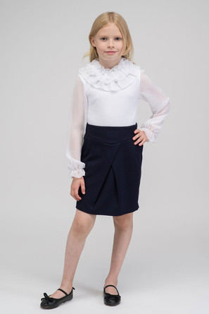 Блузка Белла длиннный рукав Красавушка