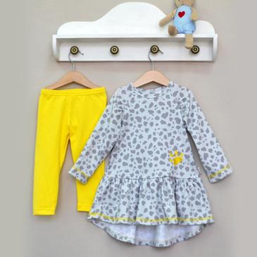 Комплект (платье и леггинсы) Baby Boom