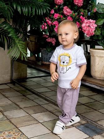 Штанишки с манжетами Сафари Веселый малыш