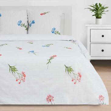 Комплект постельного белья Wild flowers, поплин Этель