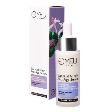 Сыворотка-комплекс питание для возрастной кожи Essential Nutri+ Anti-Age Serum, 30 мл YEU