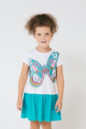 Платье Тропические бабочки Crockid