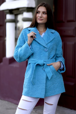 Пальто демисезонное Жаклин укроченное La Zenia
