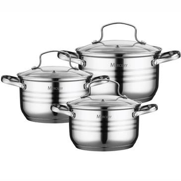Набор посуды (6 предметов) Mercury Haus