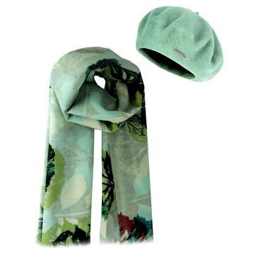 Комплект (берет, шарф) 190х71 Level Pro