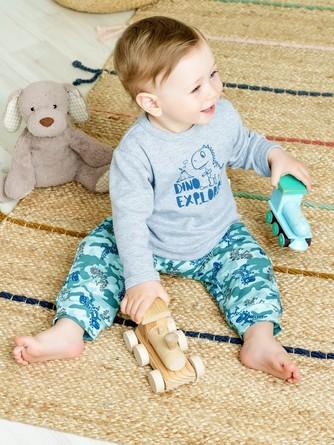 Фуфайка с длин. рук. Археолог (2 шт.) Веселый малыш