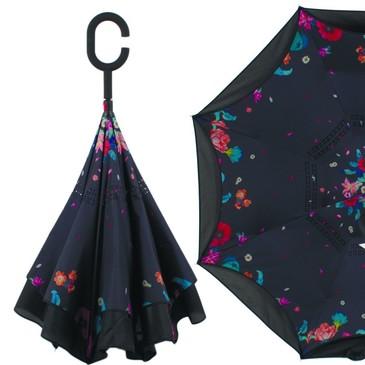 Зонт трость механика Flioraj