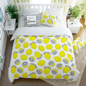 Комплект постельного белья Лимонный фреш Сирень