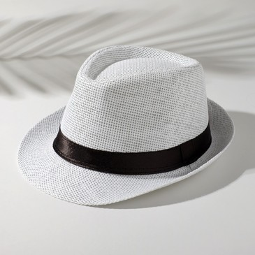 Шляпа Плетеная Minaku