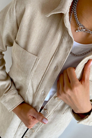 Рубашка Nastya Sergeeva by MAY BE