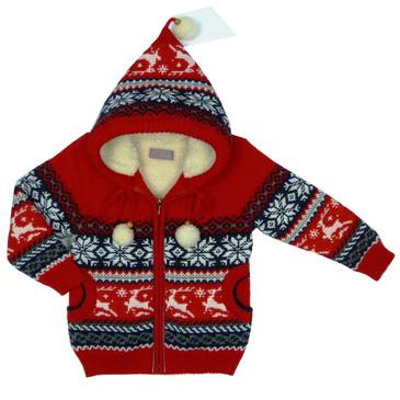 Куртка на меховой подкладке Лесной олень Ковровский трикотаж