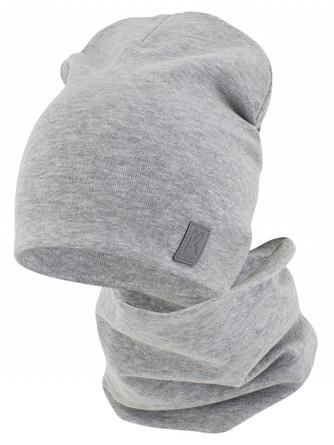 Комплект демисезонный (шапка и снуд) ПриКиндер